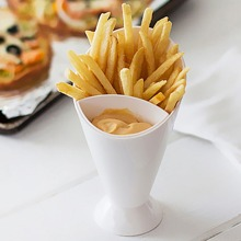 1pc Plastic French Fry Cup