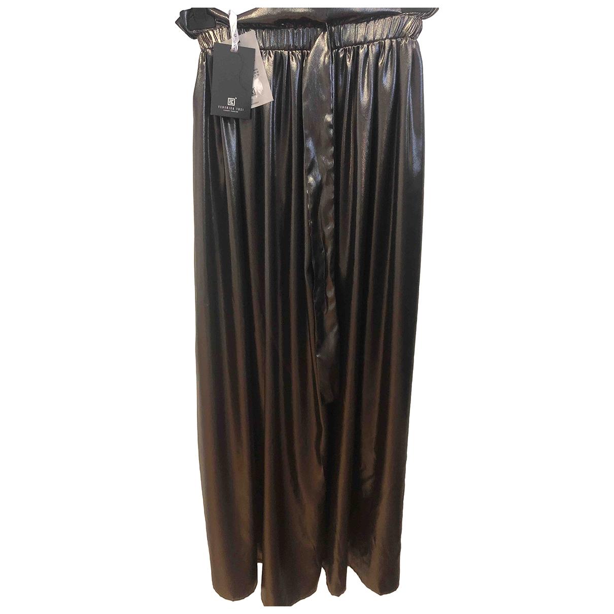 Federica Tosi \N Silver skirt for Women 40 IT