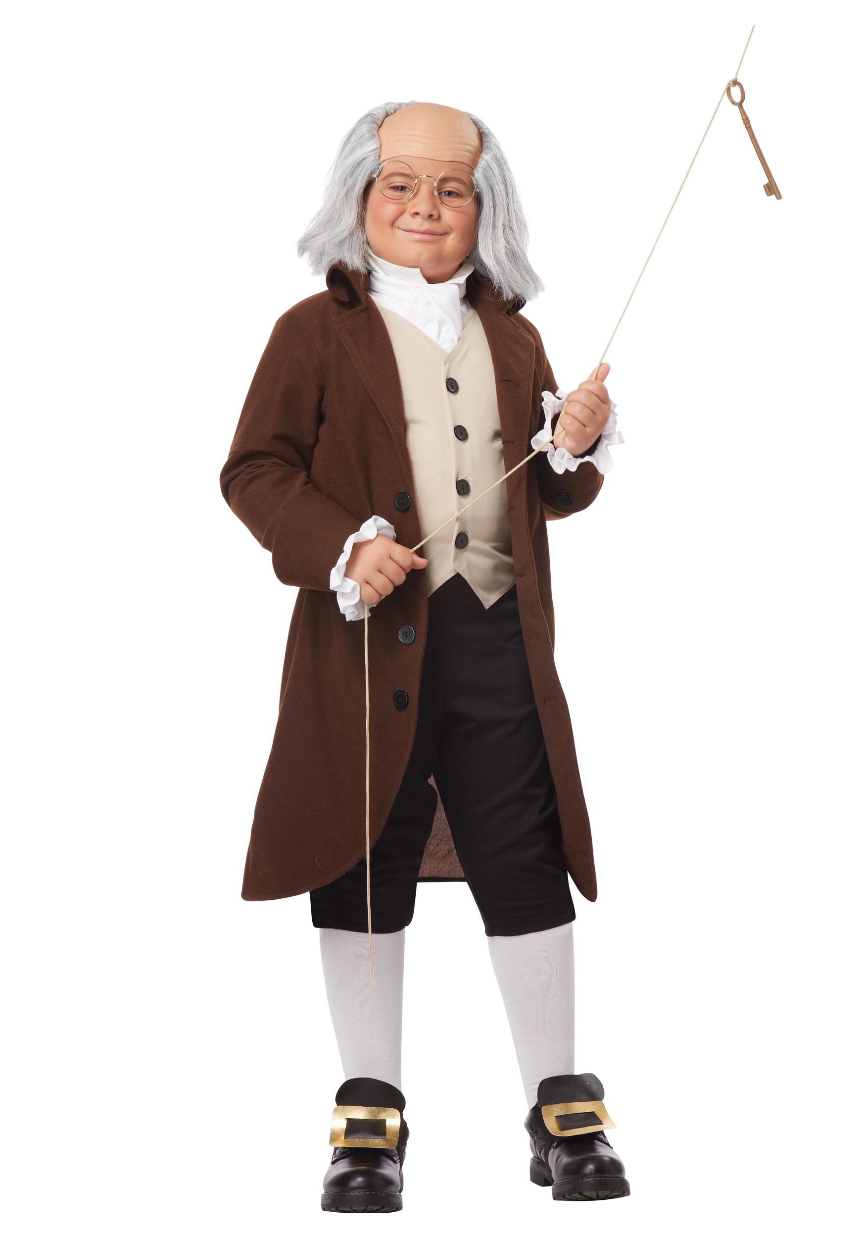 Benjamin Franklin Boys Costume | Historical Figure Costume