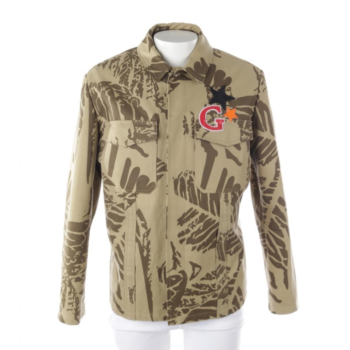Gucci \N Beige Cotton jacket  for Men 50 FR