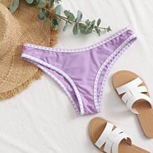 Bikini Hoschen mit Ziernaht