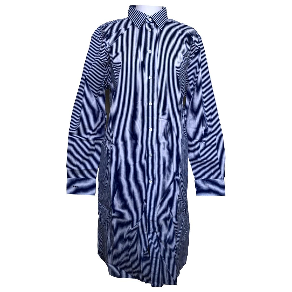 Polo Ralph Lauren - Robe   pour femme en coton - bleu