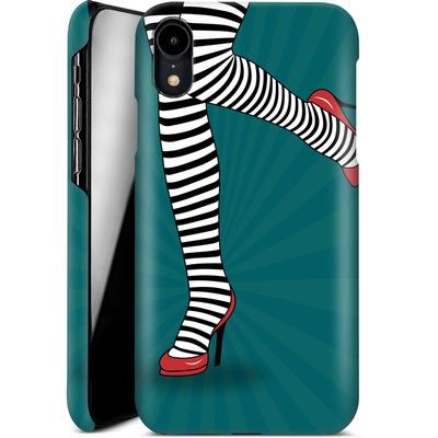 Apple iPhone XR Smartphone Huelle - Stripy Tights von Mark Ashkenazi