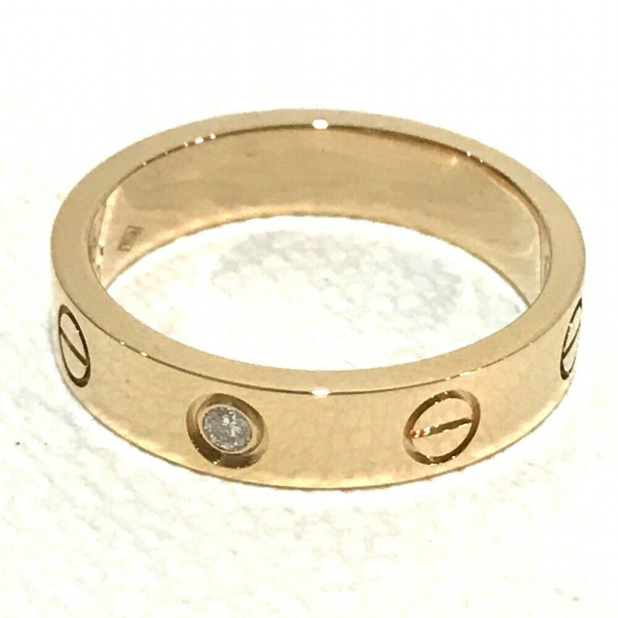 Cartier Love Pink Pink gold ring for Women 5 ¼ US