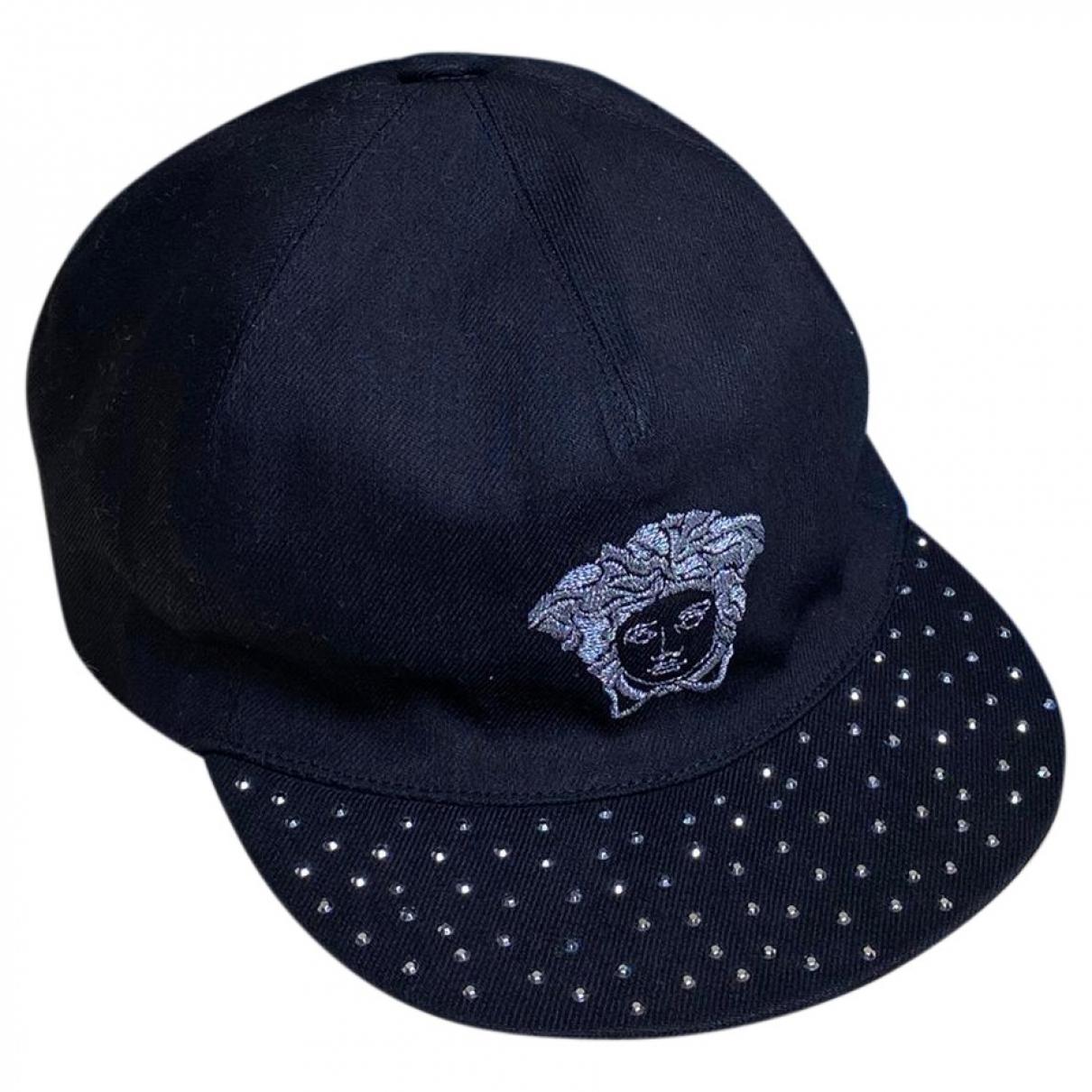 Versace - Chapeaux.Bonnets.Gants   pour enfant en coton - noir