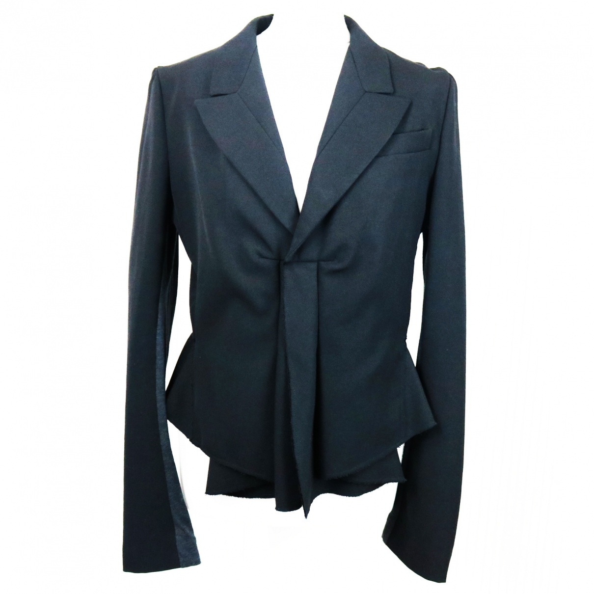 Marni \N Black Wool jacket for Women 44 IT