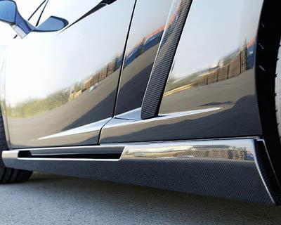 Hamann 15 100 121 Side Skirts Carbon Fiber Lamborghini Gallardo 03-12