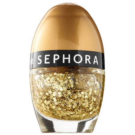 SEPHORA COLLECTION Color Hit Mini Nail Polish, One Size , Yellow