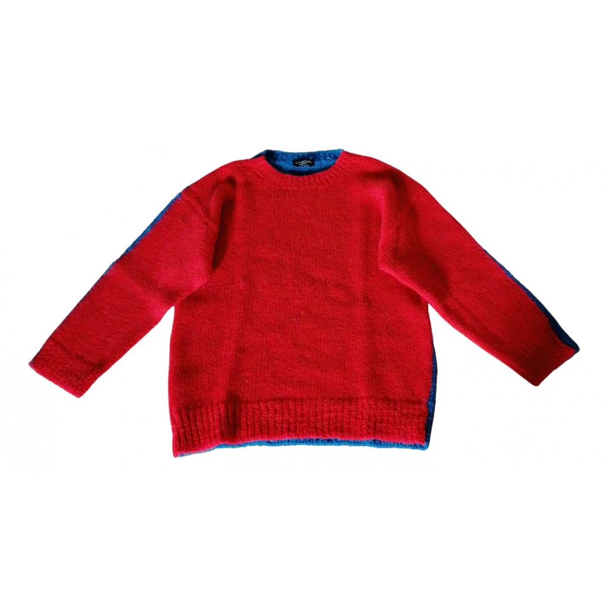 Calvin Klein 205w39nyc \N Red Wool Knitwear for Women S International
