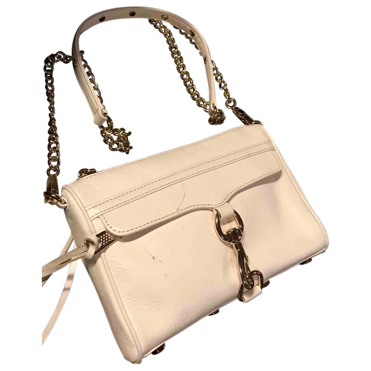 Rebecca Minkoff \N Handtasche in  Weiss Leder