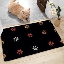 Dog Paw Print Floor Mat