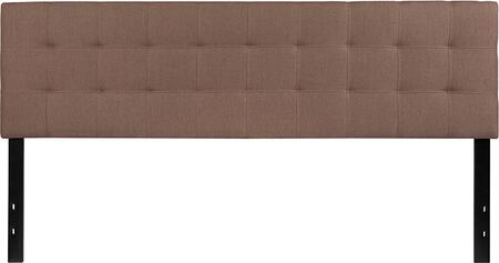 HG-HB1704-K-C-GG Bedford Tufted Upholstered King Size Headboard in Camel