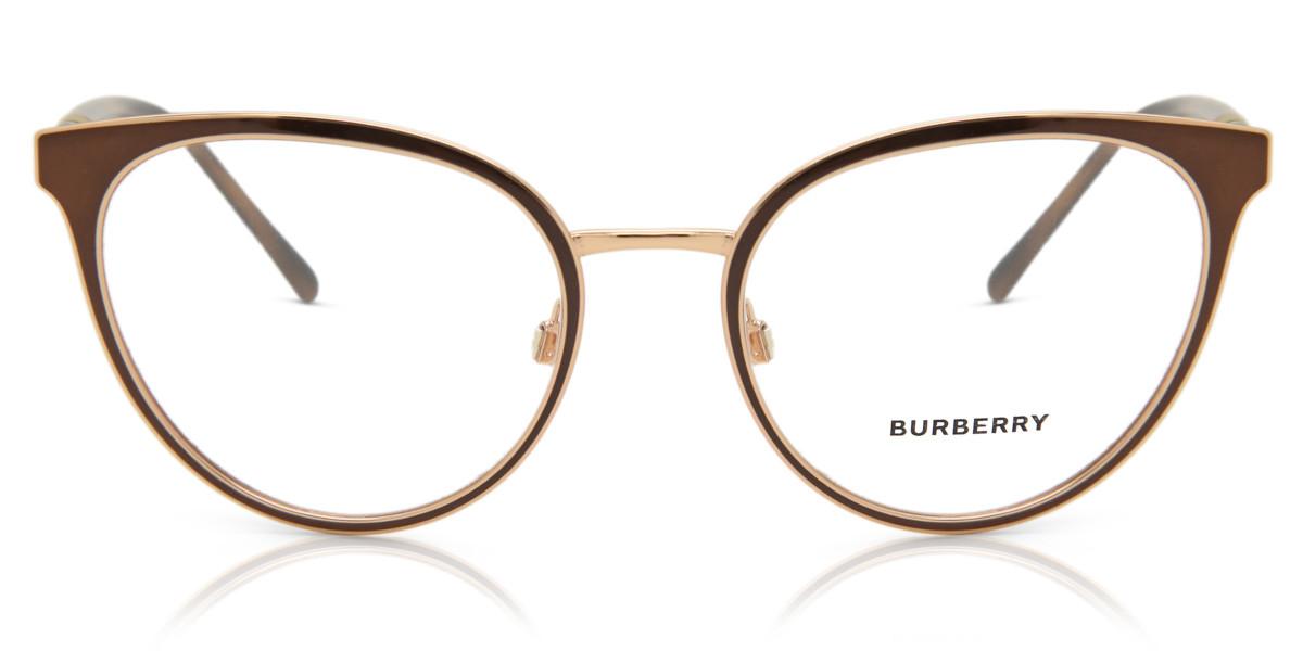 Burberry BE1324 1263 Women's Glasses Brown Size 52 - Free Lenses - HSA/FSA Insurance - Blue Light Block Available