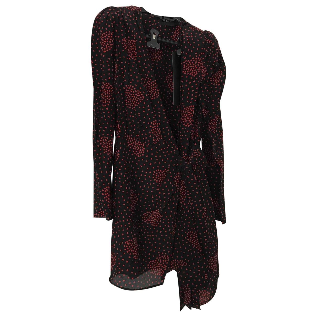 The Kooples Fall Winter 2019 Black Silk dress for Women 1 0-5