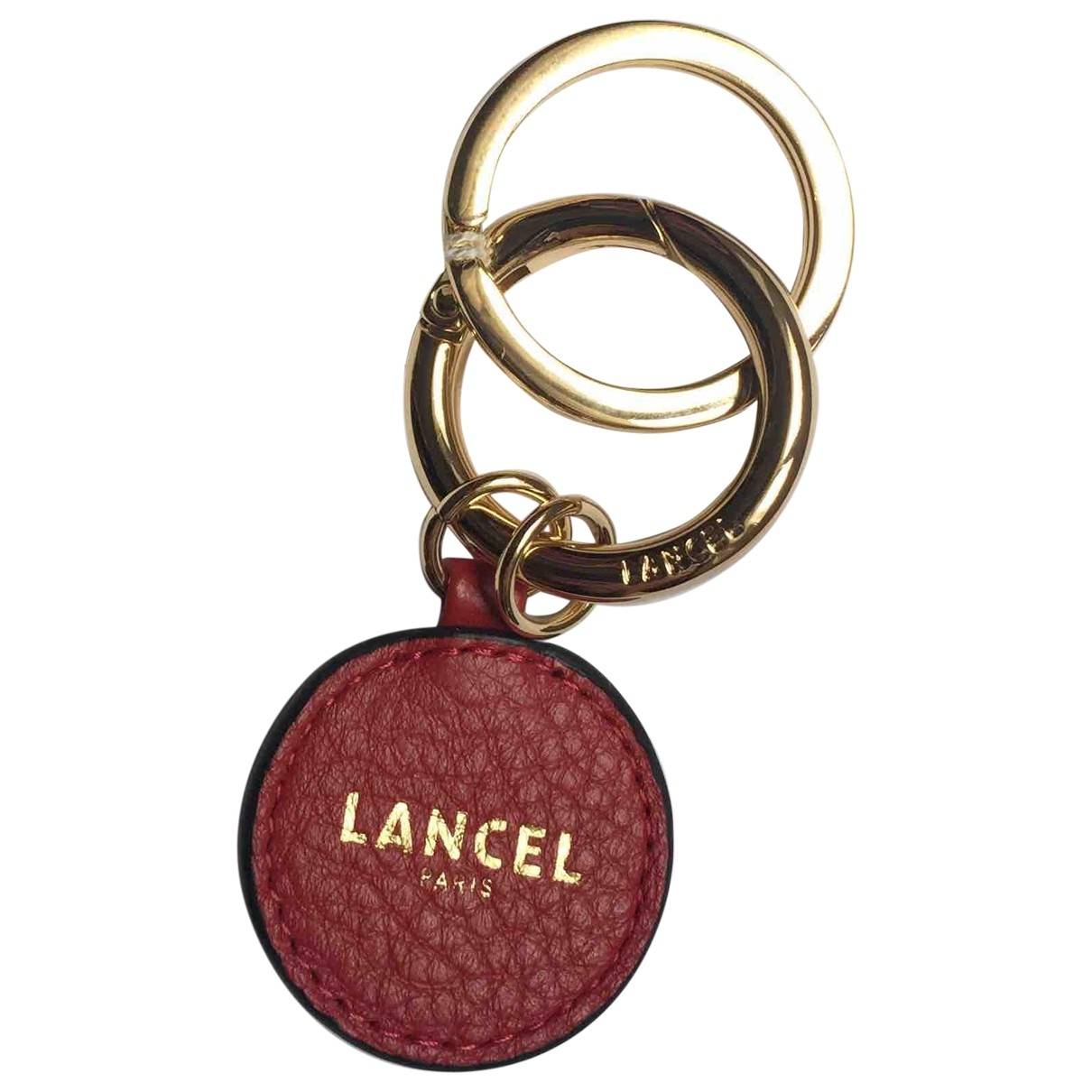 Lancel \N Red Leather Bag charms for Women \N