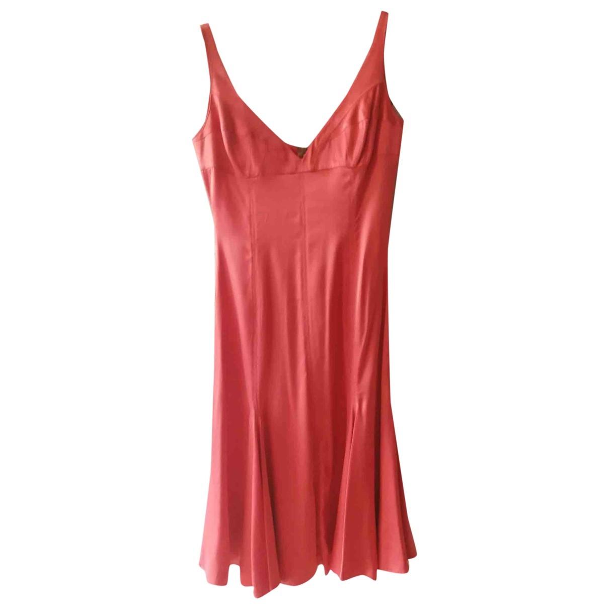 Just Cavalli \N Orange Silk dress for Women 42 IT