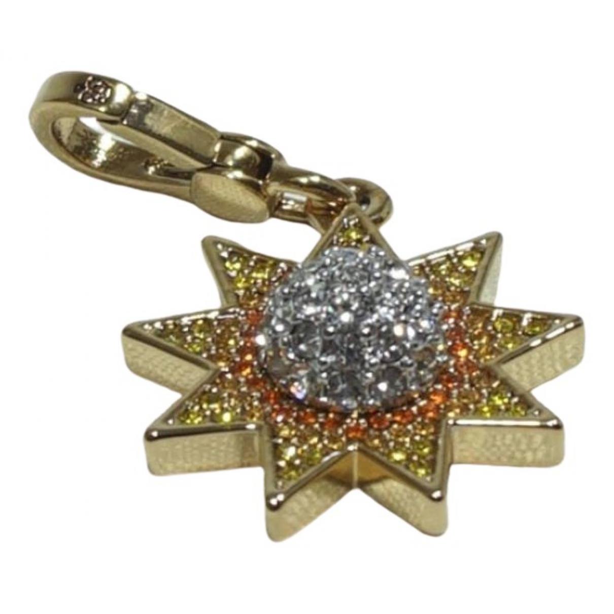 Juicy Couture - Pendentif   pour femme en metal - orange