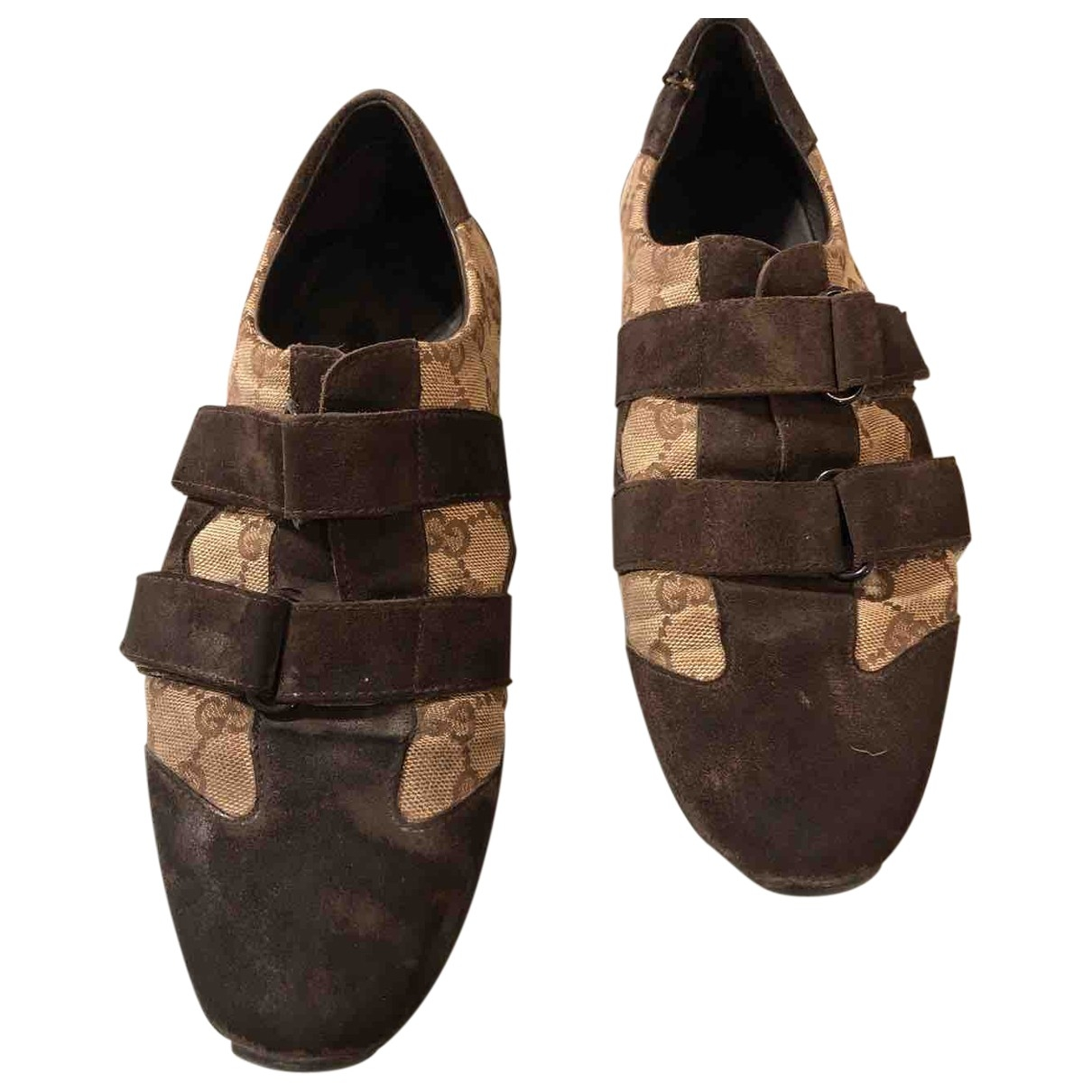 Gucci \N Brown Leather Lace ups for Men 39 EU
