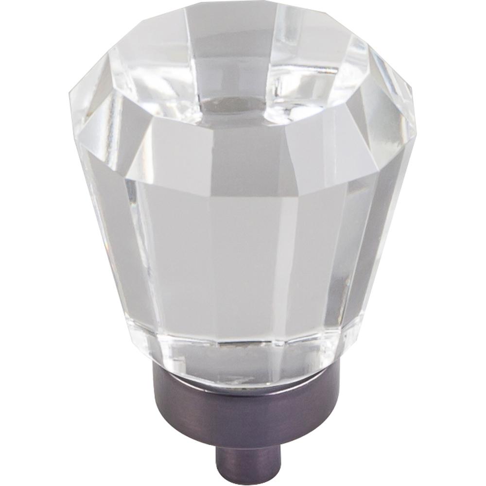 Harlow Small Tapered Glass Knob 1