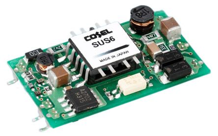 Cosel 6W Isolated DC-DC Converter Surface Mount, Voltage in 18 → 36 V dc, Voltage out 15V dc