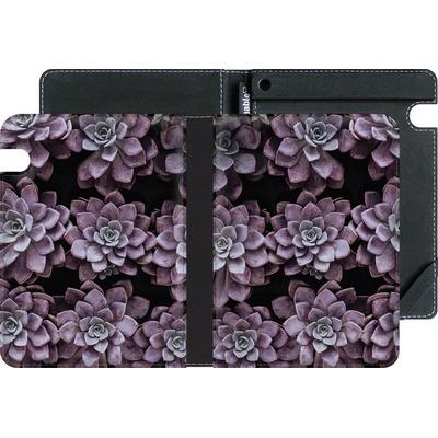 Amazon Kindle Voyage eBook Reader Huelle - Purple Succulents von caseable Designs