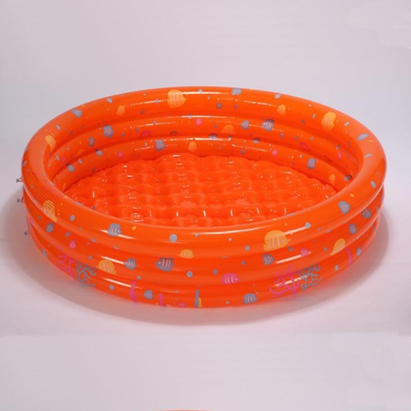 Portable Inflatable Round Shape PVC Pure Color SPA Bathtub