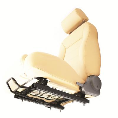 Bestop Seat Slider with Adapter in Black - 51248-01