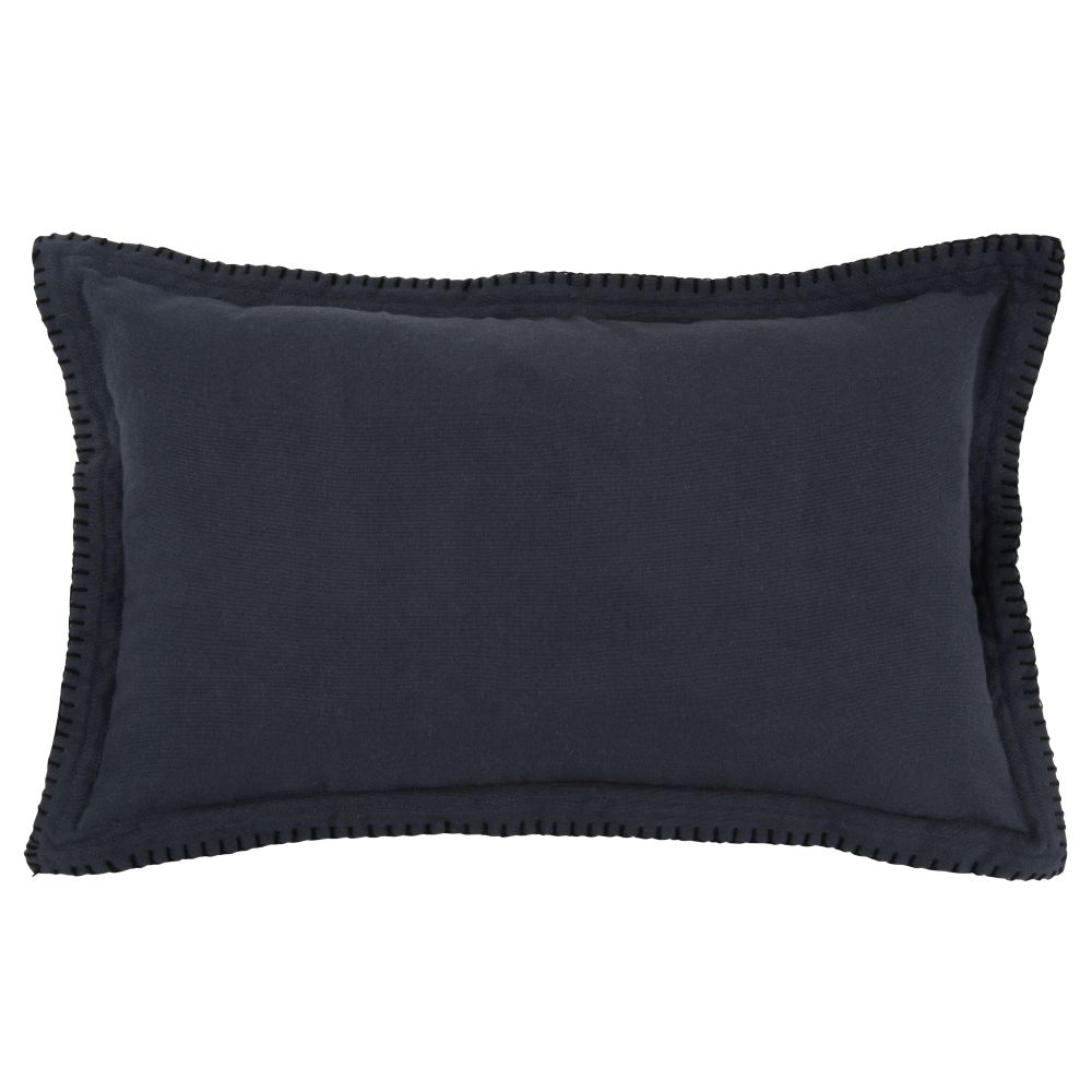 Kissenbezug aus Baumwolle, blau 30x50