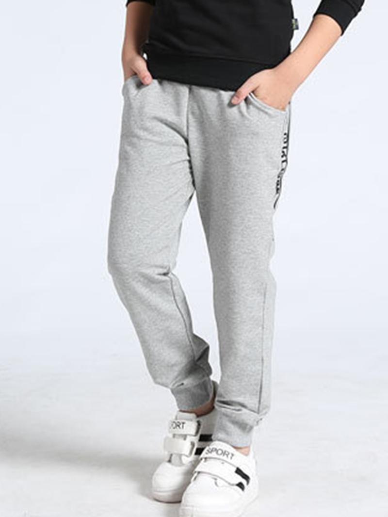 Ericdress Number Print Mid-Waist Boy's Casual Pants
