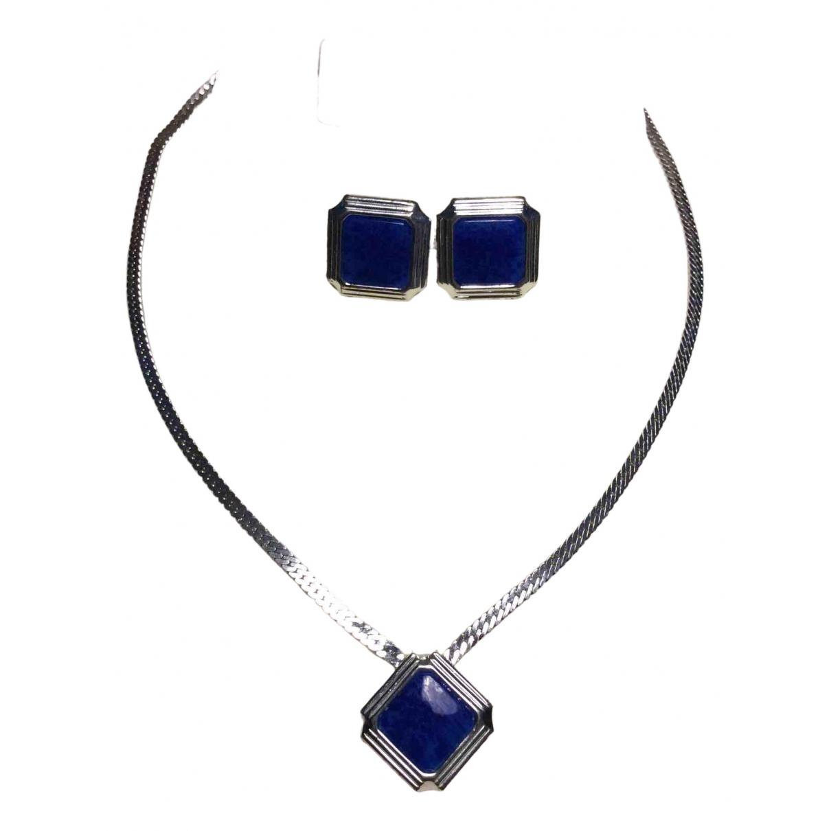 Dior \N Silver Metal Jewellery set for Women \N