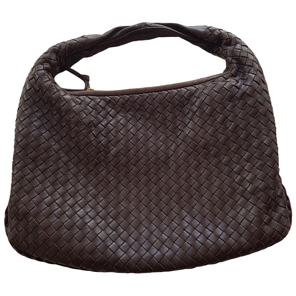Bottega Veneta Veneta Brown Leather handbag for Women \N