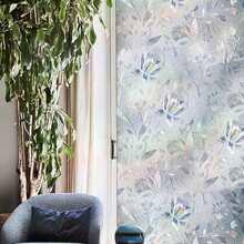 Flower Print Wall Sticker