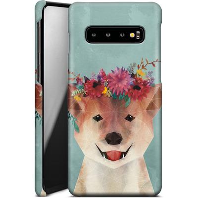 Samsung Galaxy S10 Smartphone Huelle - Crown von Little Clyde