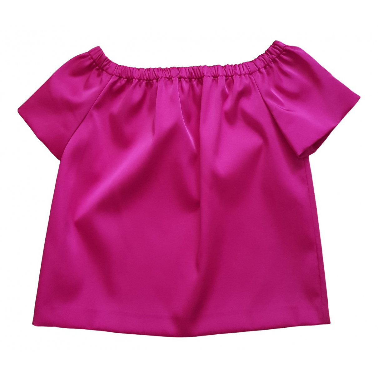 Maje \N Top in  Rosa Polyester