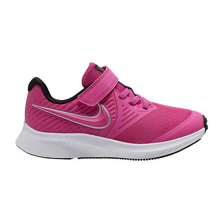 Nike Star Runner 2 Little Kids Girls Running Shoes, 3 Medium, Pink