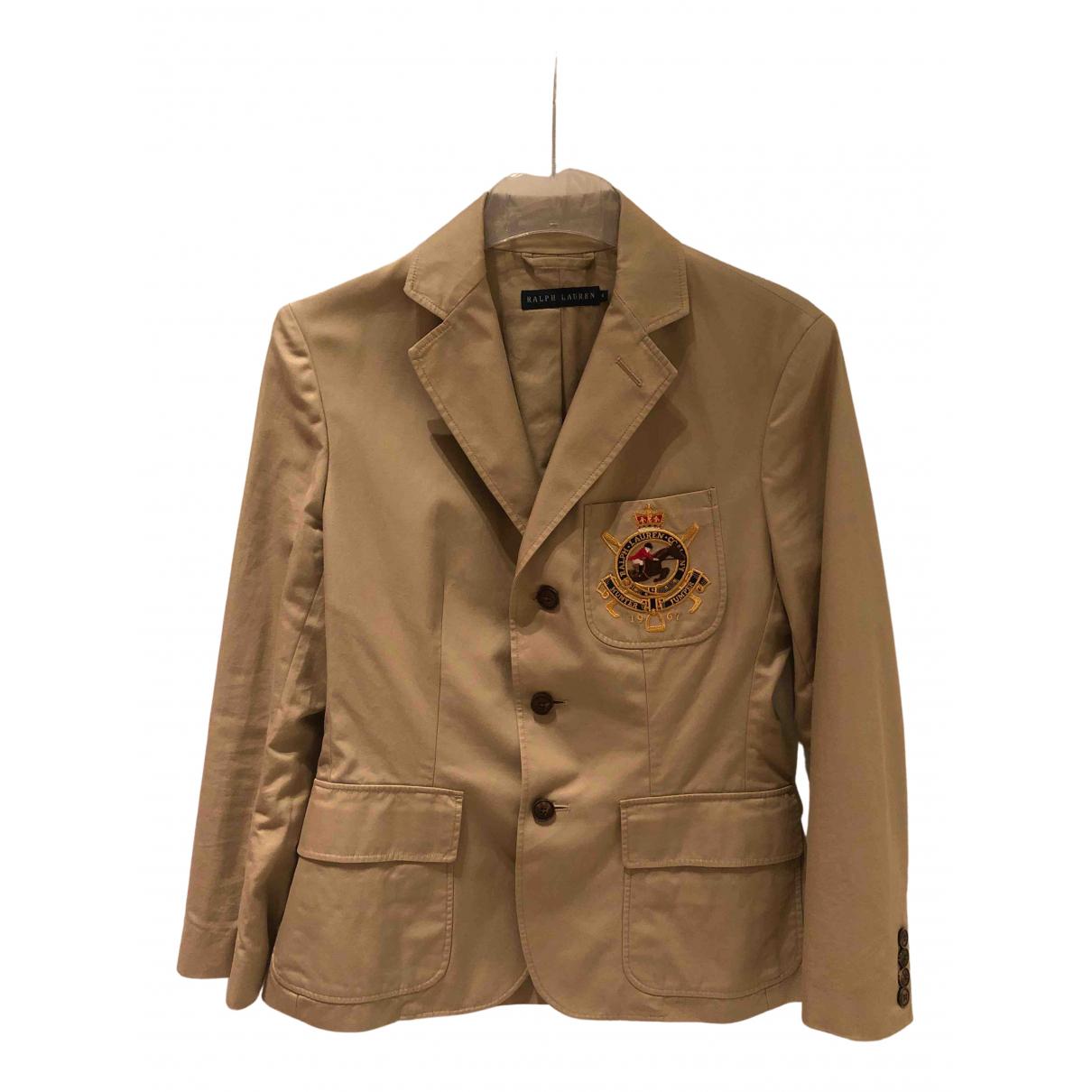 Ralph Lauren - Veste   pour femme en coton - beige