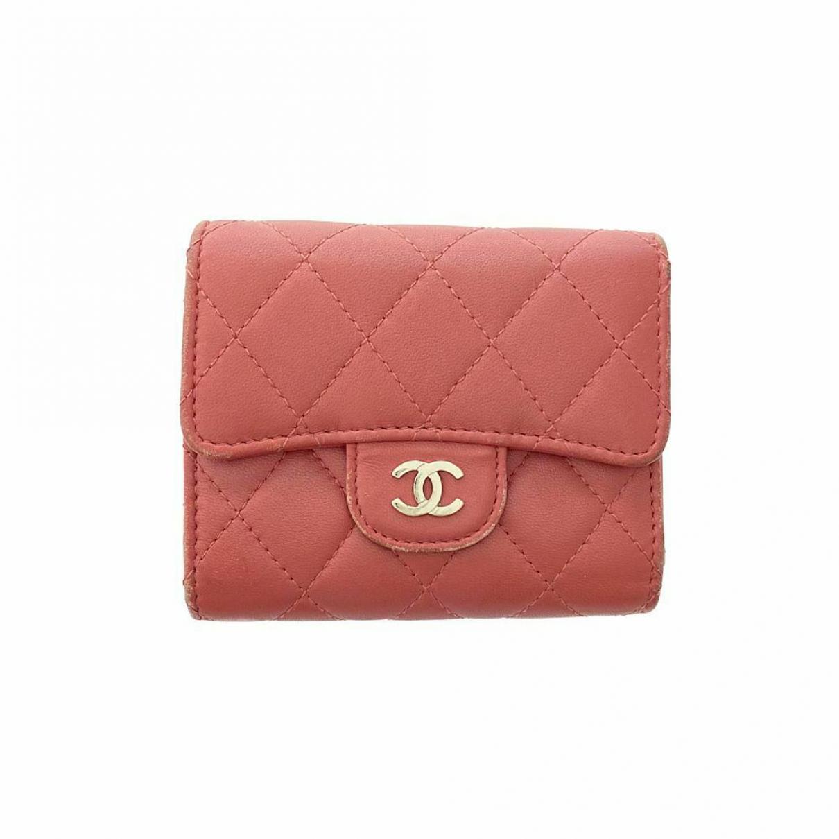 Chanel \N Portemonnaie Rosa