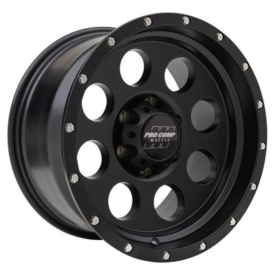 Pro Comp Series 5045, 17x9 Wheel with 6 on 5.5 Bolt Pattern - Satin Black - 5045-7983