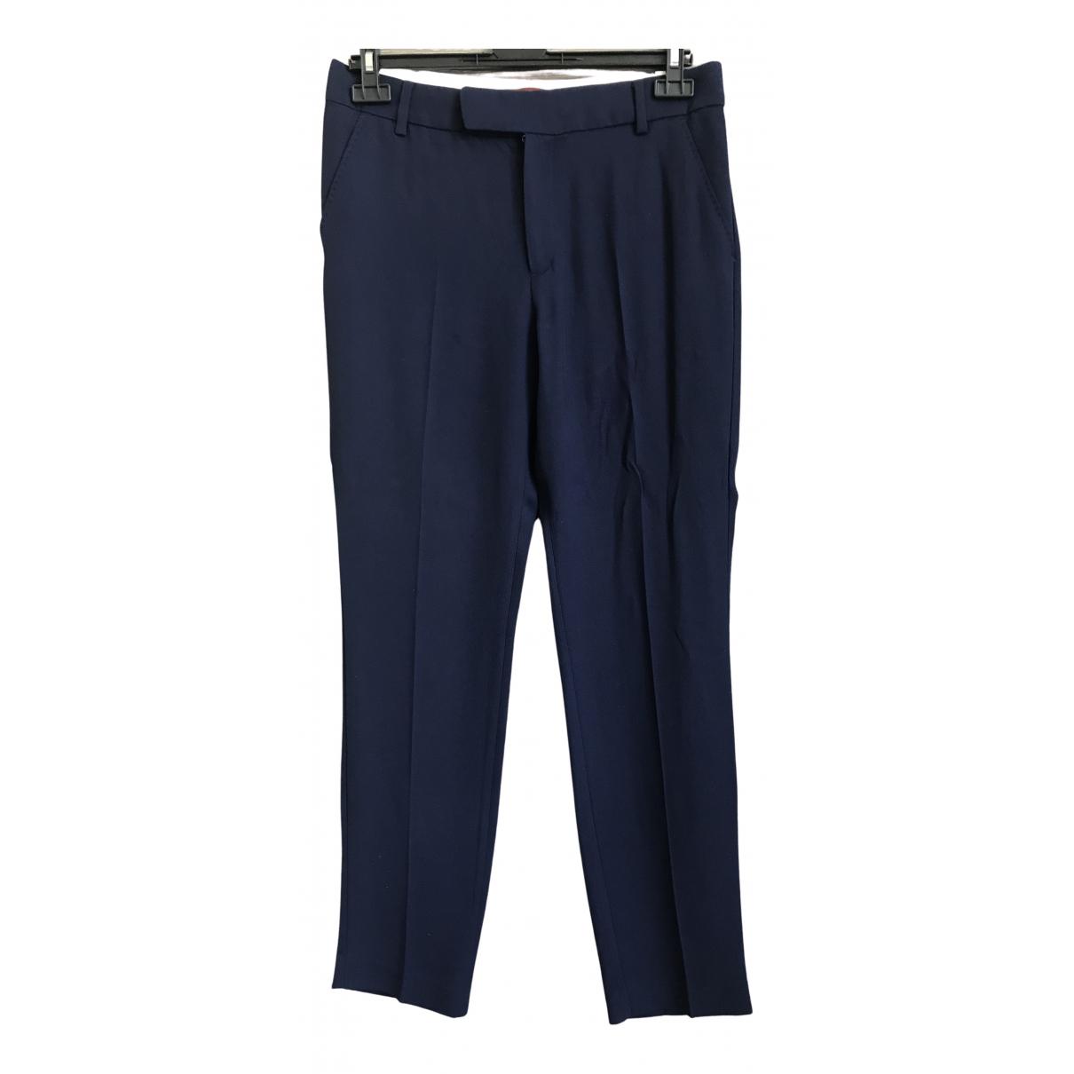 Comptoir Des Cotonniers N Navy Trousers for Women 38 FR