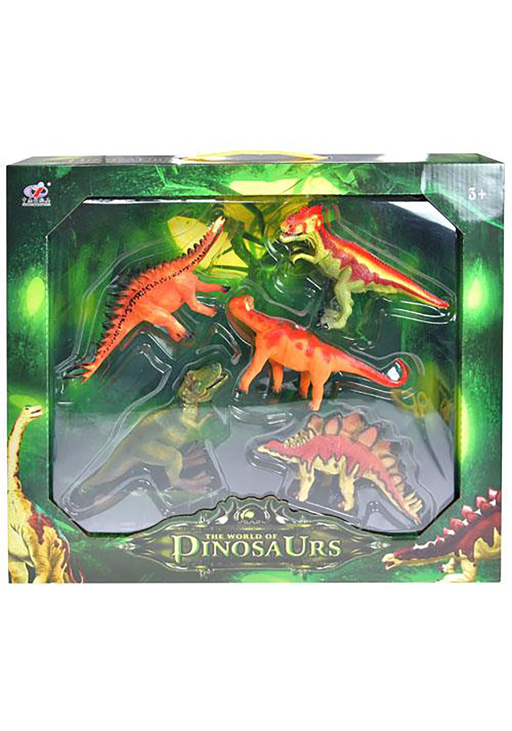 5 Pack Dinosaur Figure Box
