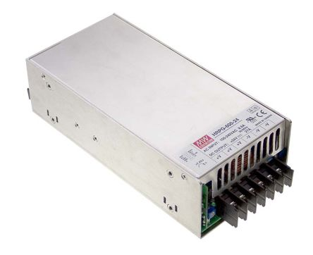 Mean Well , 636W Embedded Switch Mode Power Supply SMPS, 12V dc, Enclosed