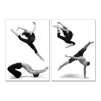 VGSC-SB-6816AB Modrest Dancers 2-Panel Photo on