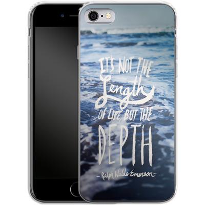 Apple iPhone 6 Silikon Handyhuelle - Depth von Leah Flores