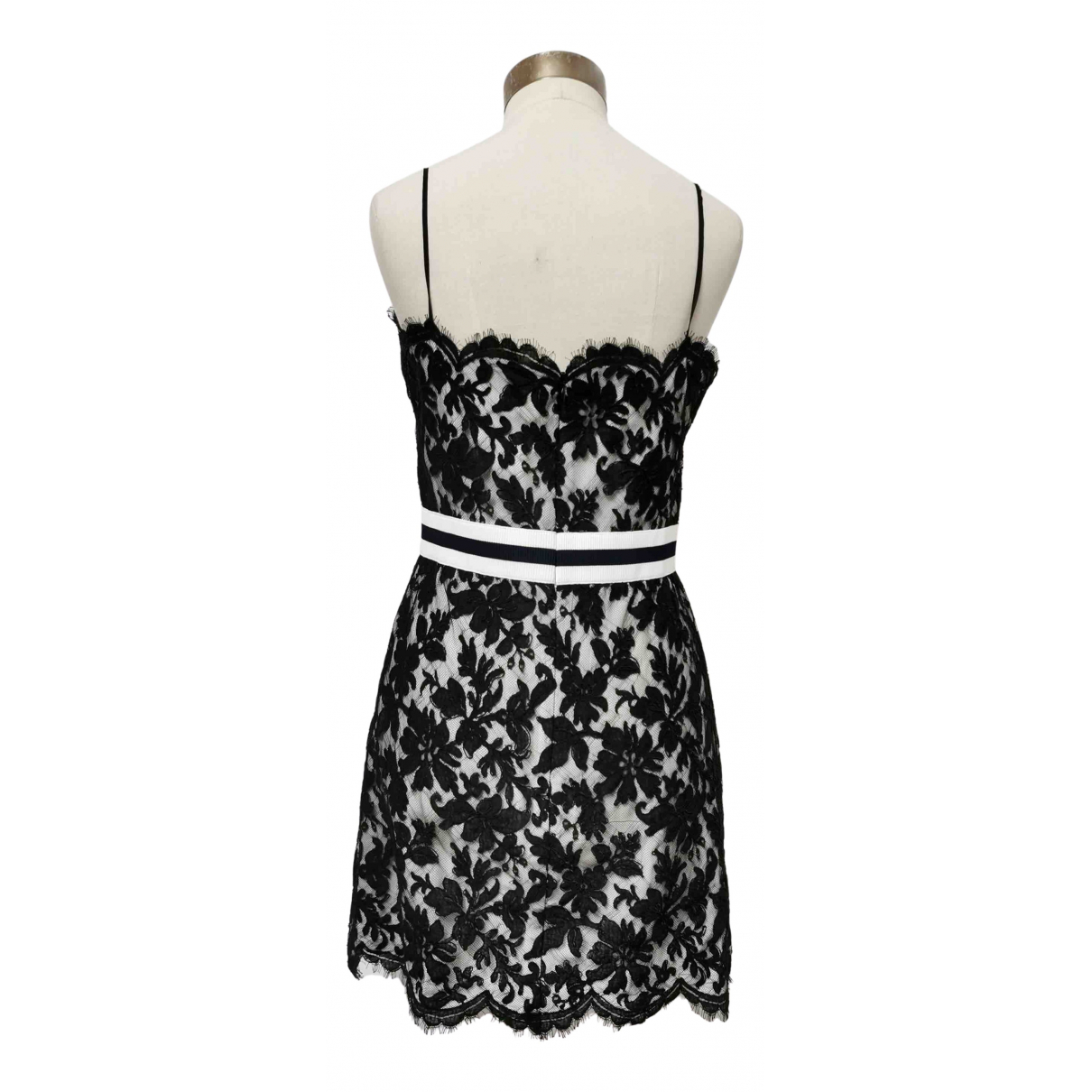 Chanel N Black Lace dress for Women 40 FR
