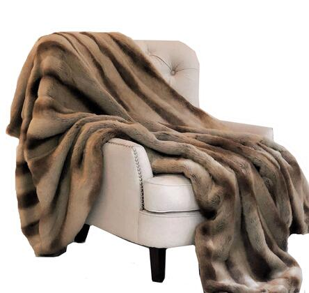 Sheared Chinchilla Collection PBSF1418-96x110T 96L x 110W Queen Faux Luxury