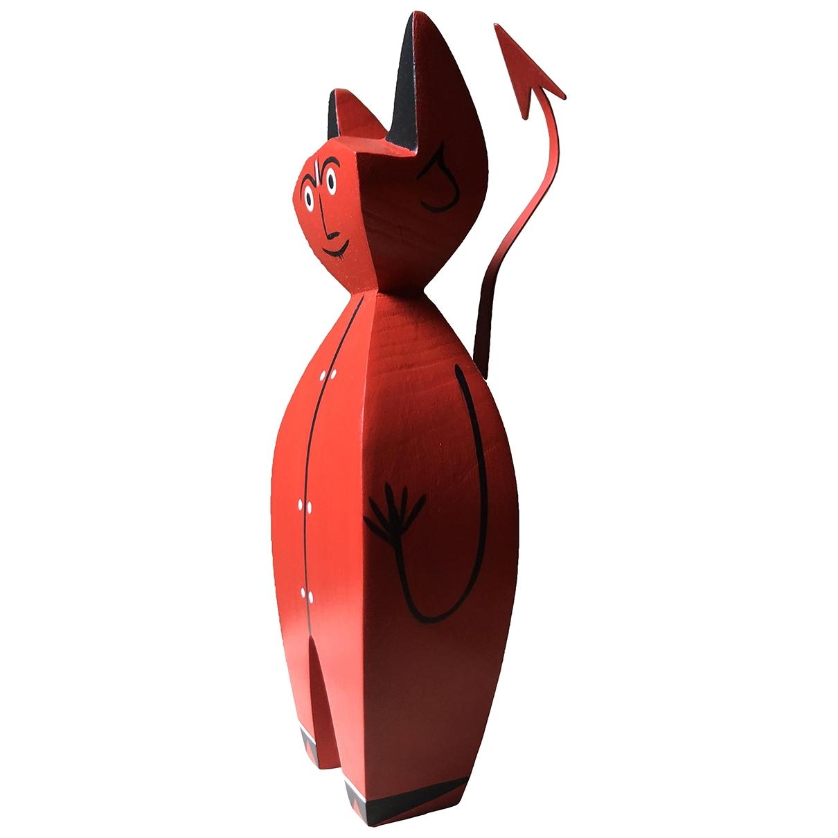 Vitra - Objets & Deco   pour lifestyle en bois - rouge