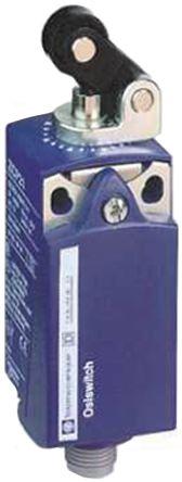 Telemecanique Sensors , Snap Action Limit Switch - Plastic, NO/NC, Roller Plunger, 250V, IP66, IP67