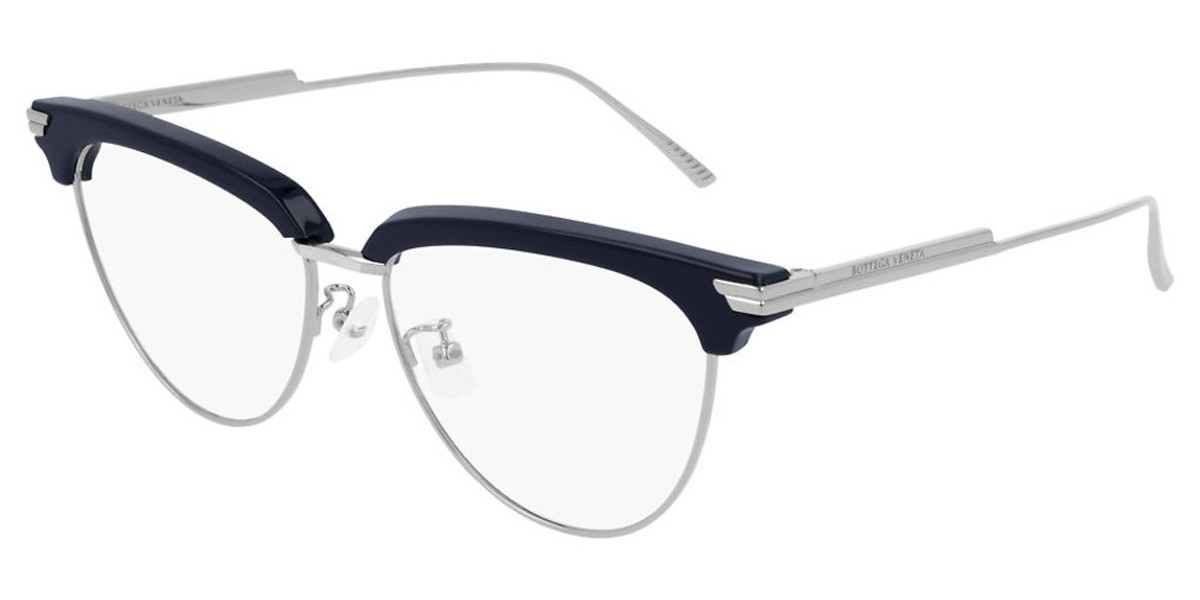 Bottega Veneta BV1010O 004 Women's Glasses Grey Size 54 - Free Lenses - HSA/FSA Insurance - Blue Light Block Available