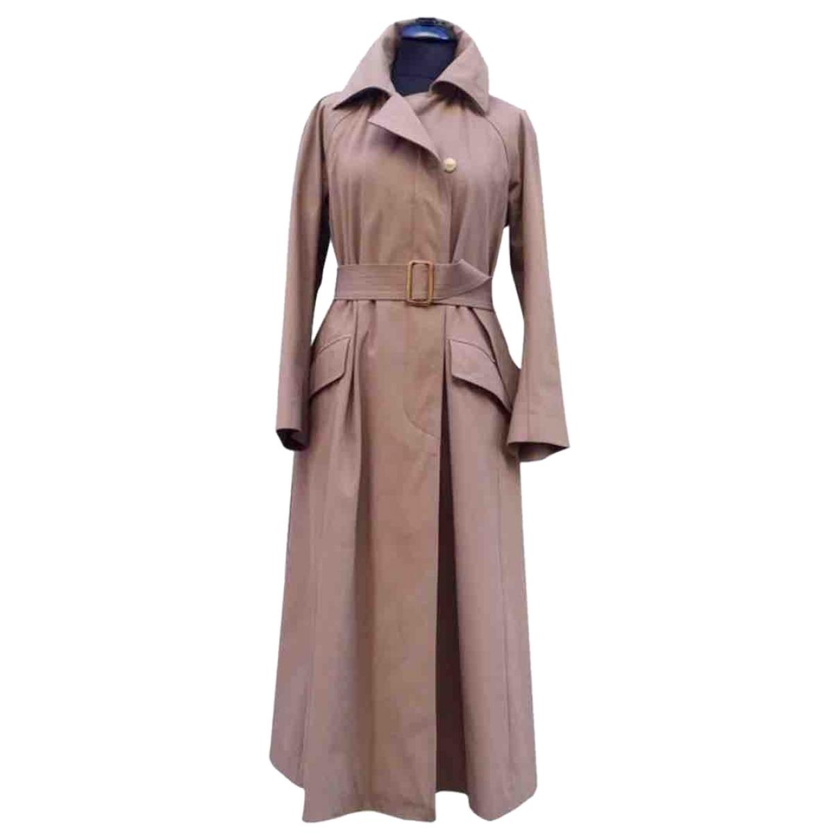 Dries Van Noten \N Camel Cotton coat for Women M