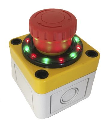APEM Panel Mount Mushroom Head Emergency Button - 2NC, Turn to Release, 40mm, 22.7mm, Red